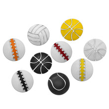 KZ3230 mode beauté huile Sport basket-ball baseball volley-ball 18MM boutons pression ajustement bracelet pression bijoux en gros(China)