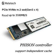 Reletech SSD M2 NVMe PCIe 256gb 512GB 1TB 2TB M.2 Solid State Drive Independent Cache 2280 Internal Hard Disk for Laptop Desktop