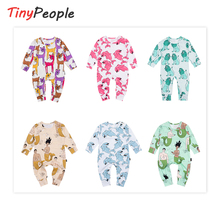 TinyPeople Baby Rompers Cotton Spring Newborn Boys onesie Gi