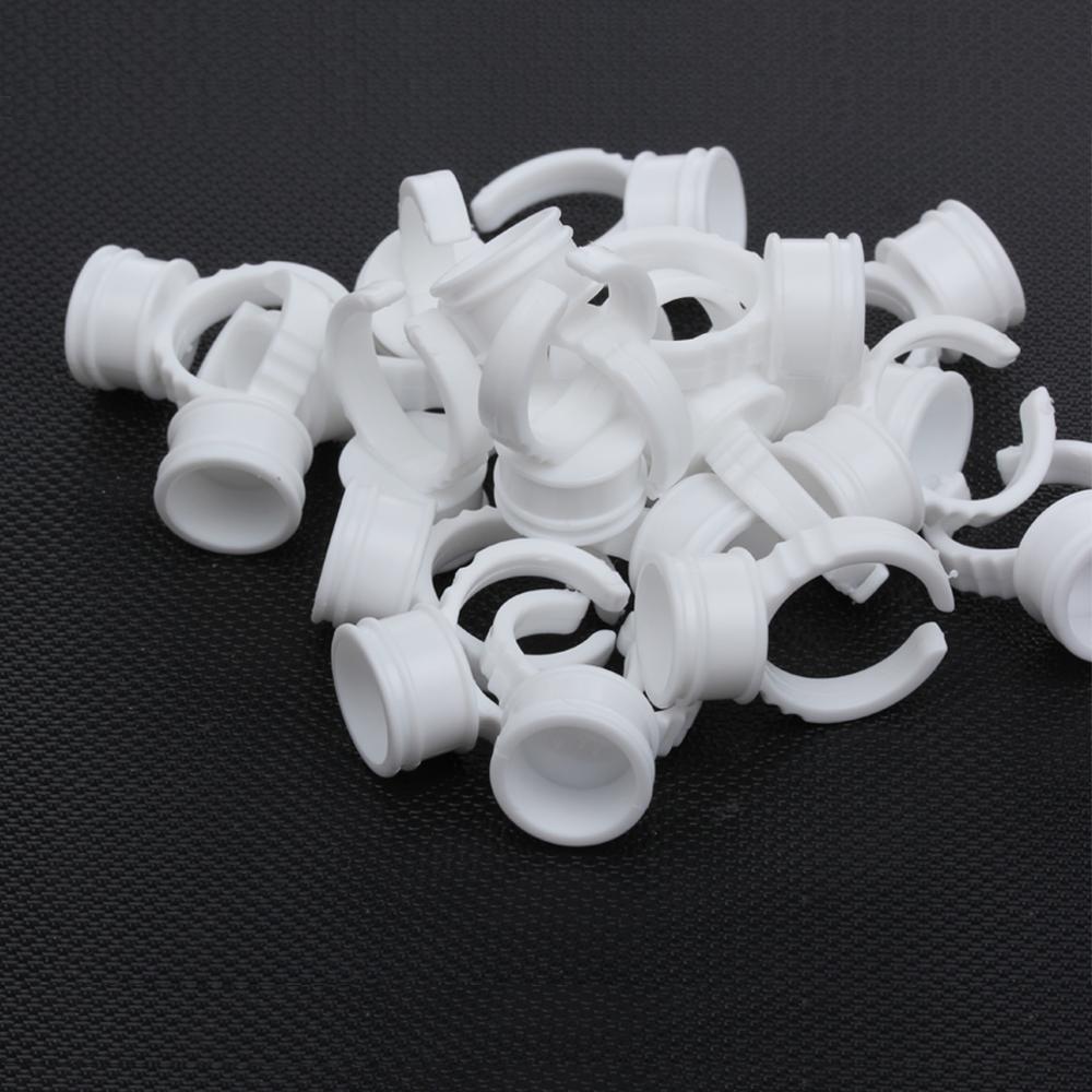 1 пакет одноразовых колец для наращивания ресниц оптовая продажа