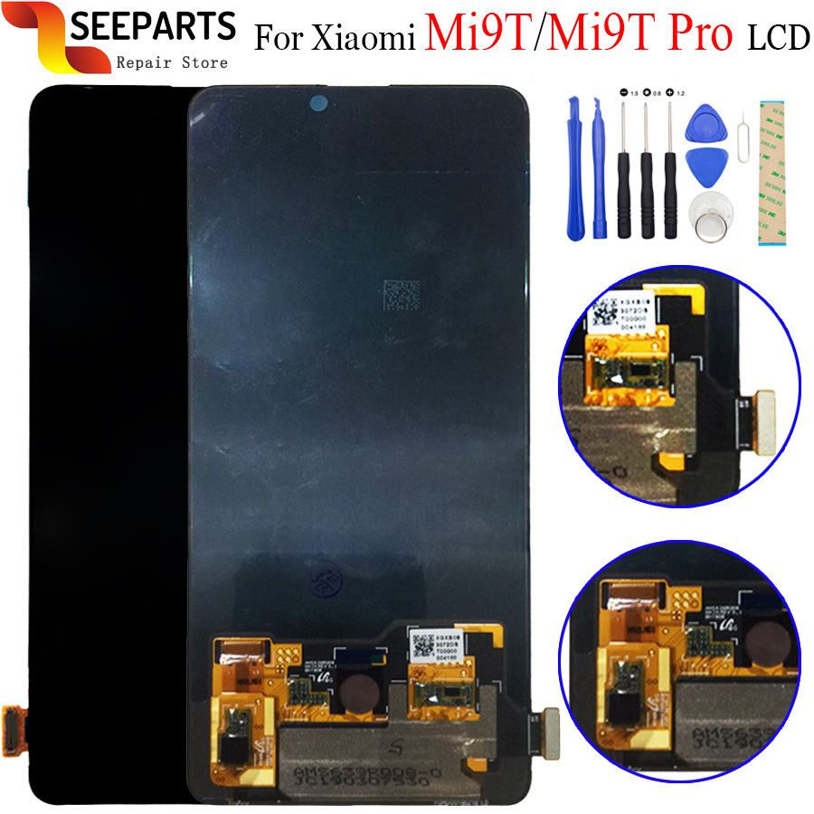 """Original 6.39"""" Xiaomi Redmi K20 Pro LCD Display Touch Screen Digitizer Assembly For Xiaomi Mi 9T Pro LCD Screen k20 Replacement-in Mobile Phone LCD Screens from Cellphones & Telecommunications    1"""