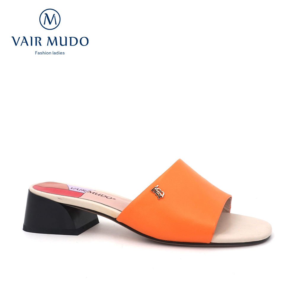 VAIR MUDO 2020 Fashion Summer Slippers New Shoes leather wear low heel fashion wild open toe slippers ladies outdoor sandals LT2