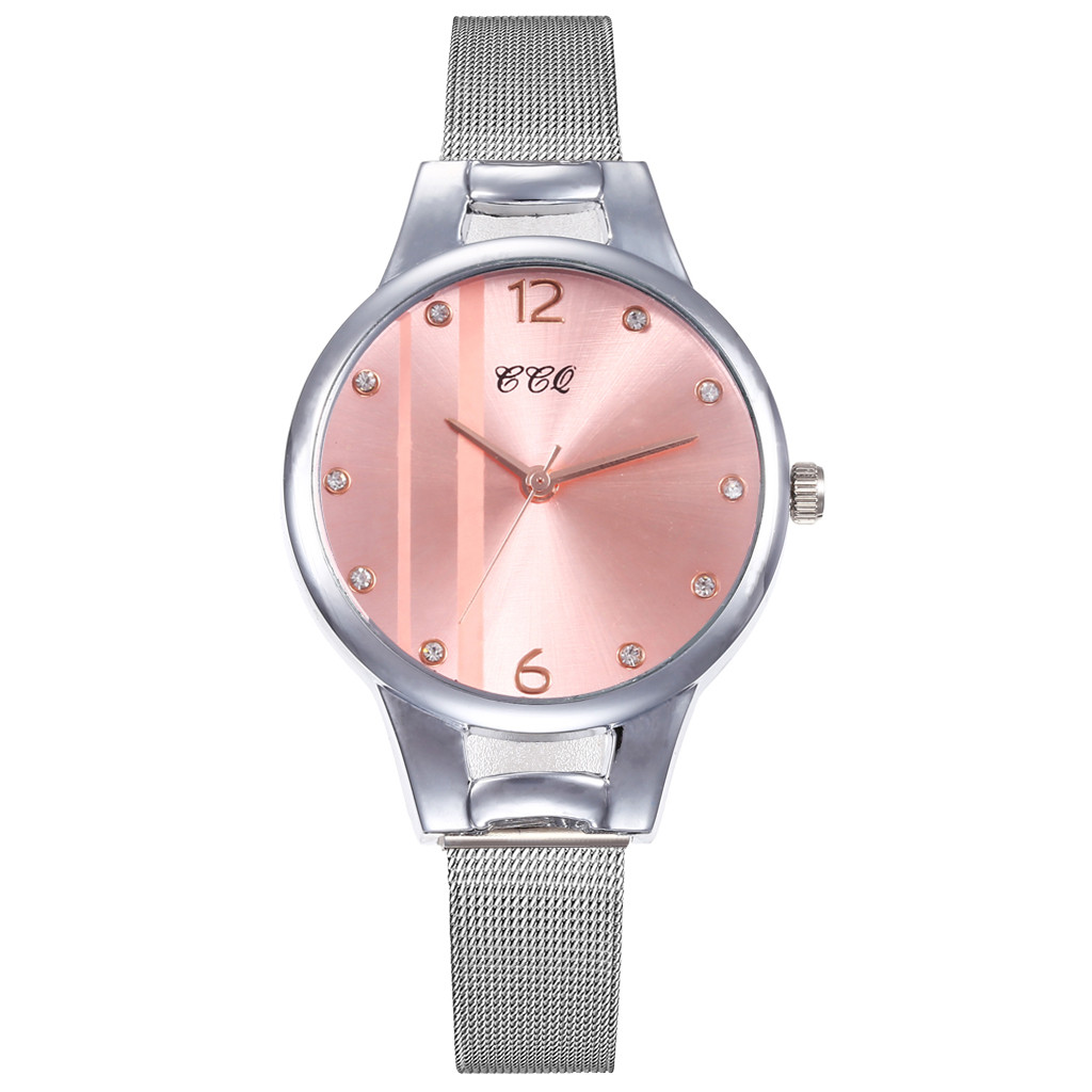 Best Selling Women Watches Glass Gemstone Dial Ladies Quartz Wristwatch Design Rhinestone Alloy Strap Clock Gift Montre Femme533