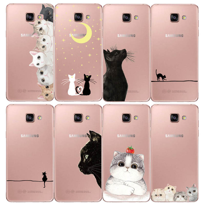 Silicone Case For <font><b>Samsung</b></font> <font><b>Galaxy</b></font> <font><b>A5</b></font> 2017 2016 A520 A510 F Case 5.2
