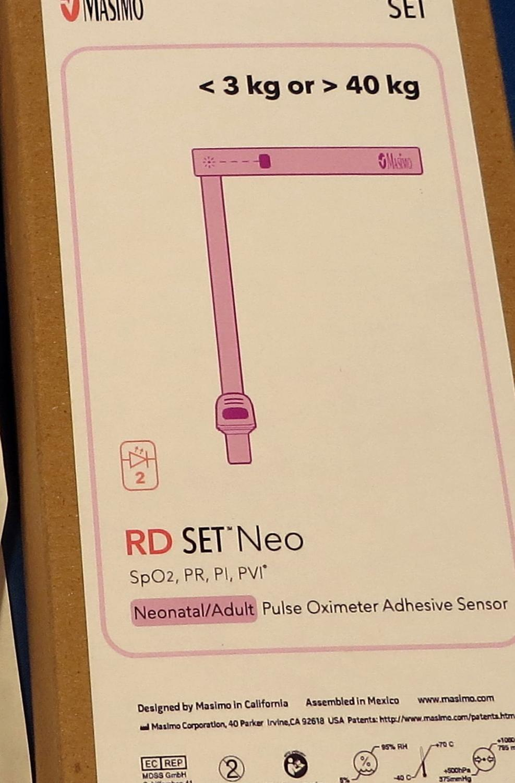 Masimo RD 4003 Neonatal Adhesive SpO2 Sensor 20 Per Box