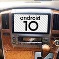 Автомобильный мультимедийный плеер для Toyota Alphard 2007 2006 2005 2004 Android 10,0 Gps BT Навигация стерео магнитофон радио головное устройство