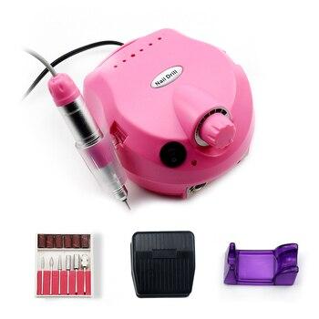 35000/20000 RPM Electric Nail Drill Machine Mill Cutter Sets For Manicure Nail Tips Manicure Electric Nail Pedicure File 5