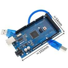 20sets 메가 2560 R3 Mega2560 REV3 20pcs ATmega2560 16AU 보드 + 20pcs USB 케이블
