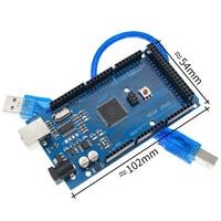 20sets Mega 2560 R3 Mega2560 REV3 20pcs ATmega2560 16AU Board + 20pcs USB Cable