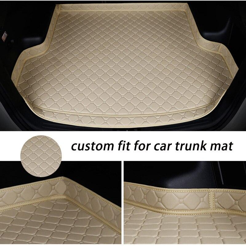 Custom Car Trunk Mat For MAZDA All Modle Mazda 3 CX3 CX4 CX5 CX7 CX9 MX-5 Mazda 6 Car Accessories Styling