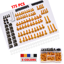 Motorcycle Full Fairing Bolts Kit Screws Fastener Clips Screw Nuts For Yamaha YZF R1 R6 R3 2004 2005 2006 2007 2008 Complete Kit