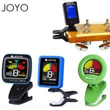 JOYO Mini Digital LCD Clip auf Tuner für Gitarre Bass Violine Ukulele Guitarra Teil Zubehör 360 Grad Drehbare Empfindliche