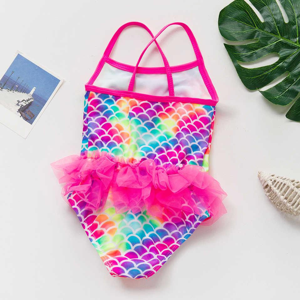 2019 Baru Anak Perempuan Baju Renang 7 ~ 13 Tahun Anak Swimsuit One Piece Anak Perempuan Baju Renang Anak Gadis Pakaian Renang Pantai -K517/H061