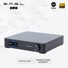 SMSL M400 AUDIO DAC Bluetooth5.0สนับสนุนMQAถอดรหัสเต็มรูปแบบBalanced 24bit/192KHz UATถอดรหัสAK4499 DSD512 PCM 768KHz/32bit