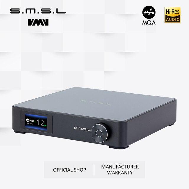 SMSL M400 AUDIO DAC bluetooth 5.0 prise en charge du décodage MQA décodeur UAT équilibré 24bit/192kHz AK4499 DSD512 PCM 768kHz/32bit