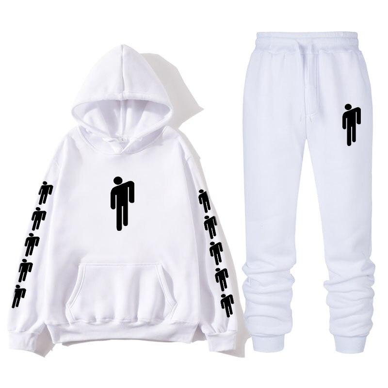 2020 Billie Eilish Autumn Winter Tracksuit Women Men Sweatshirts Casual Suit Women Clothing Suit Jogging Pant Sporting Suit
