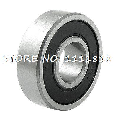 Replacement 10mm Inner Dia Roller Blade 6000RS Ball Bearing