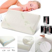 Подушка из пены с эффектом памяти для сна Ортопедическая подушка