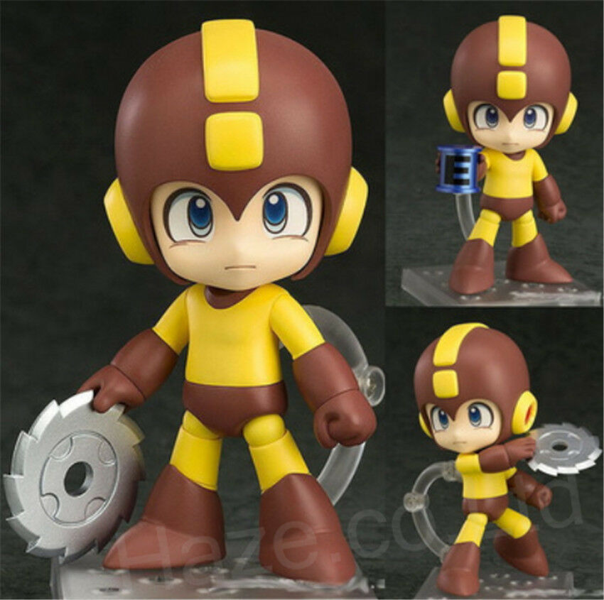 Hot Game Rockman Mega Man Sentinel 10cm/4 PVC Action Figure Movable Statue Model Toy New Doll For Children Cute Birthday Gift image