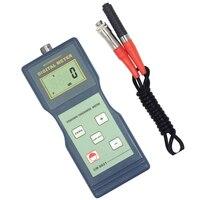 Tipo métrico e imperial da ponta de prova da indução magnética f do verificador CM-8821 do calibre da espessura do revestimento de digitas pode conversível