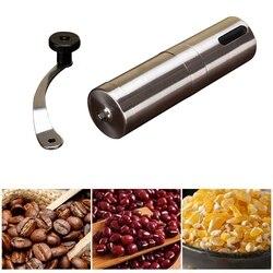 Przenośna szlifierka ze stali nierdzewnej do użytku domowego ręczna młynek do pieprzu|Ręczne młynki do kawy|   -