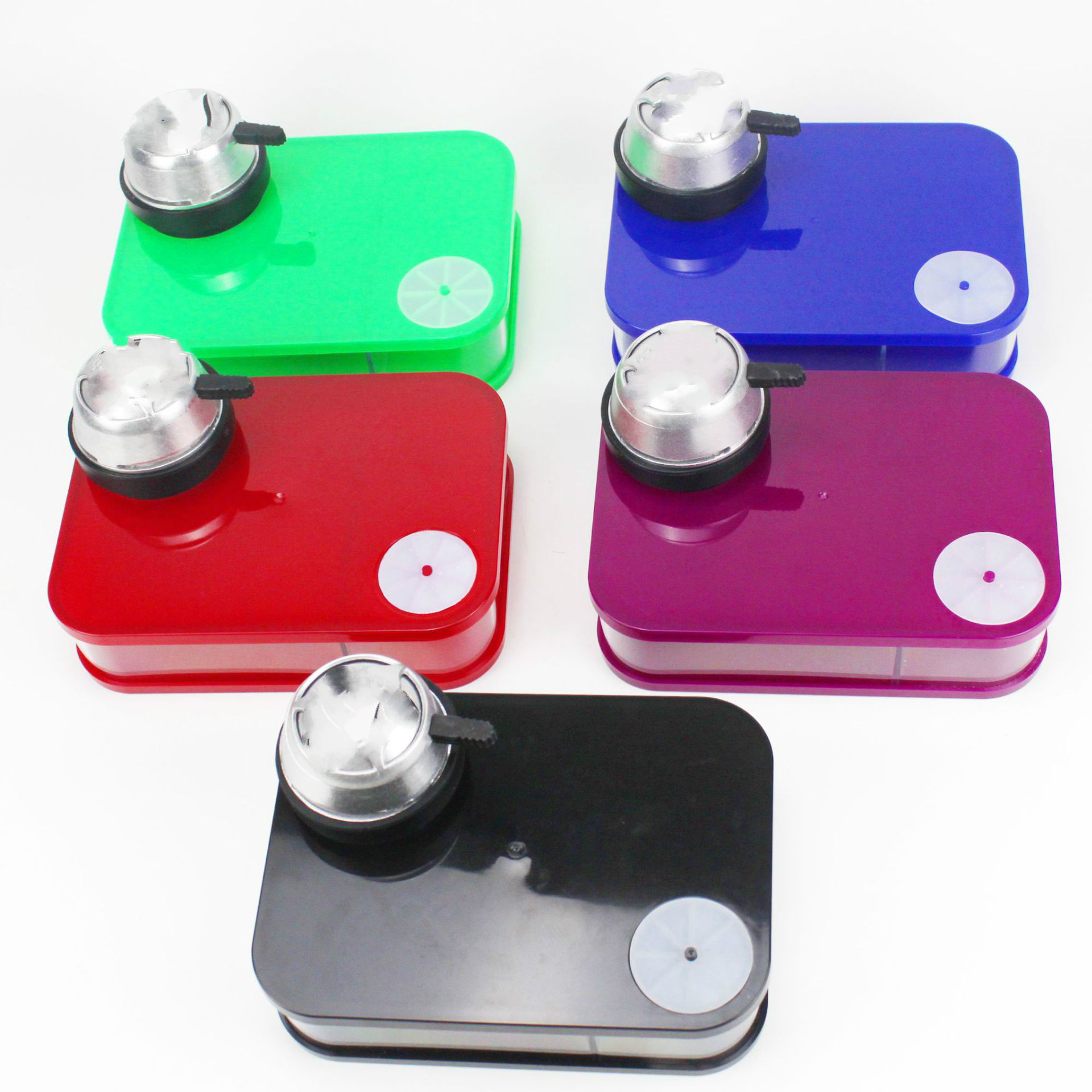 Black Box Acrylic Hookah Colorful LED Light Narghile Shisha With Remote Control Book Shaped Shisha Bong 3