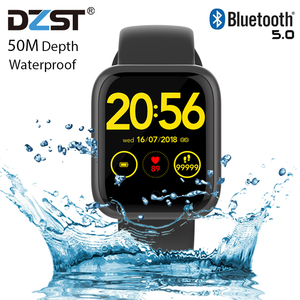 Image 1 - 2020 ساعة ذكية الرجال النساء معدل ضربات القلب 15 أيام الاستعداد مقاوم للماء Smartwatch آيفون أندرويد PK Iwo13 12 9 8 الساعات الذكية