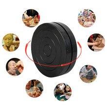 Инструмент для скульптурной глины, вращающийся поворотный круг черного цвета для гончарного дела, для студентов, для глины