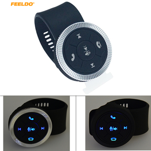 Image 1 - MOTOBOTS 1Set New 7 Key Car Wireless Steering Wheel Control Button With Resin Strap For Car Android DVD/GPS Navigation Player