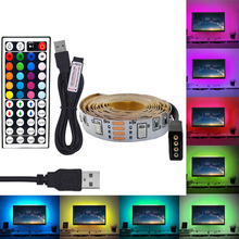 RGB 5V USB LED Strip light Power Strip 2835 SMD 60Leds/M HD TV Desktop PC Screen Backlight lighting 1M 2M 3M 4M 5M Led Strip