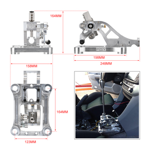 Image 5 - WLR Billet Shifter Box Assembly 03 07 Accord CL7 CL9 & 04 08 TSX & TL 기어 시프트 노브 쉬프터 교체 WLR PDZ002