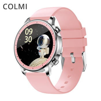 COLMI V23 Pro Women Temperature Smart Watch Full Touch Fitness Tracker IP67 Waterproof Blood Pressure Men Smartwatch