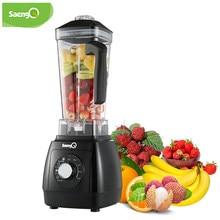 SaengQ 2200W mieszalnik Heavy Duty Grade automatyczny mieszalnik sokowirówka owoce robot kuchenny koktajle lodowe BPA bezpłatne 2L Jar