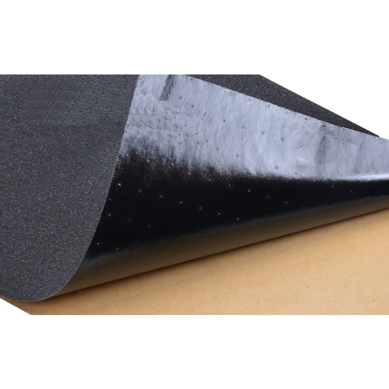 Skateboard Griptape Black Color Double Thickened Skate Board Sandpaper Anti Skid