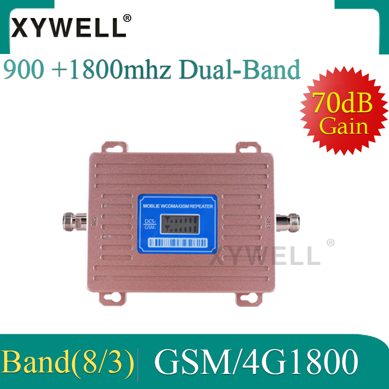 Gsm Booster 1800 900 DCS LTE 2g 4g GSM Mobile Signal Booster 2G 3G 4G LTE 1800 Dual-Band Cellular Signal Repeater