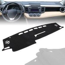 Alfombrilla para salpicadero de coche tablero cubierta salpicadero para Toyota RAV4 RAV 4 2013, 2014, 2015, 2016, 2017, 2018 LHD