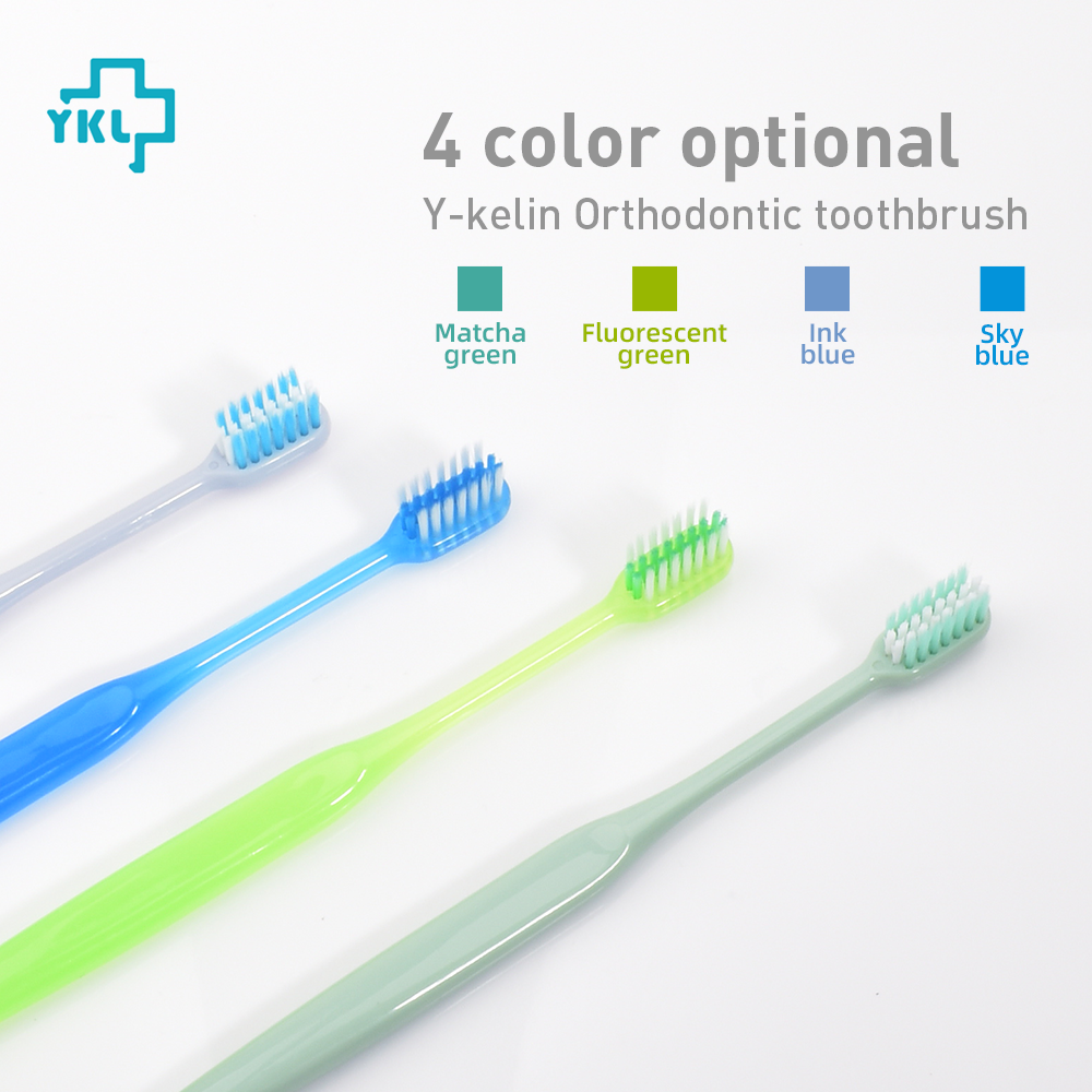 Beauty & Health ... Oral Hygiene ... 32812093934 ... 3 ... 2018 New Arrival Y-kelin U-shaped Orthodontic Toothbrush Soft Bristle orthodontia teeth brush brace  toothbrush small head ...
