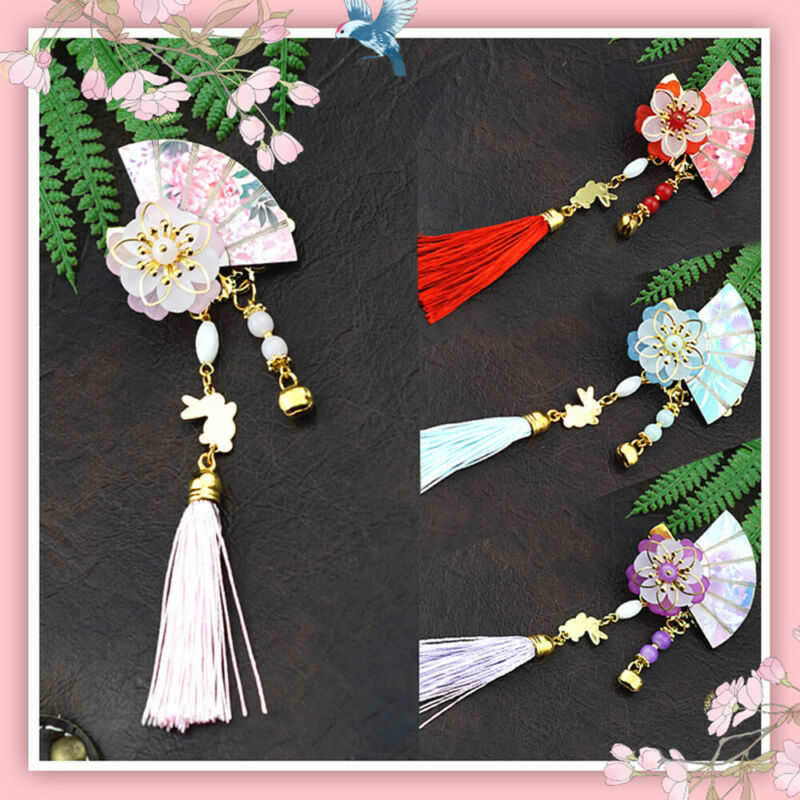 Girl For Pin Tassel Hair Cute Accessories Hairpin Chinese Handcraft Clip Ancient
