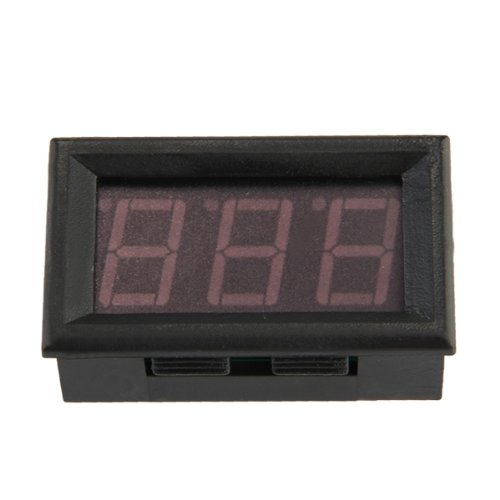 Mini Ammeter Digital Ammeter Led Panel Meter 0-50 LED Red