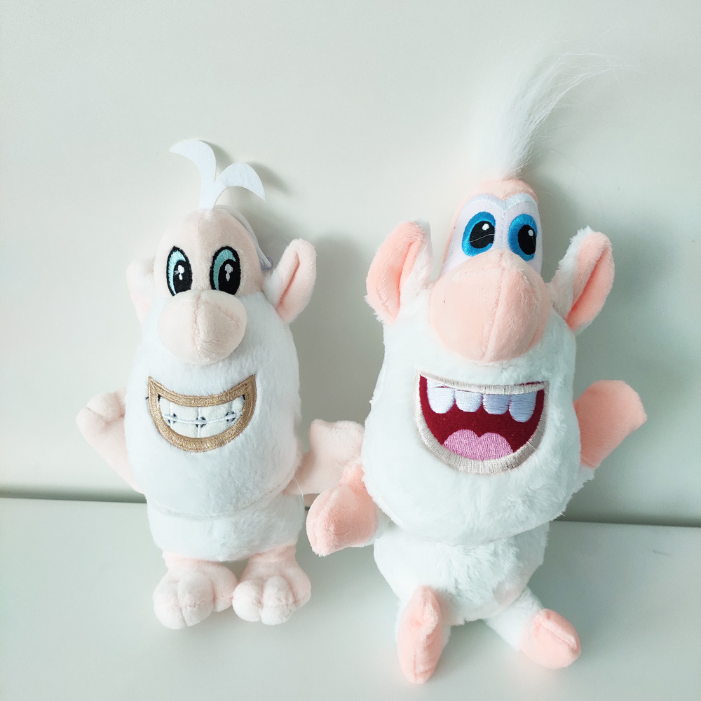 Hot Selling Currently Available Russia Cartoon White Pig Buba Plush Toys Gift Doll Toy