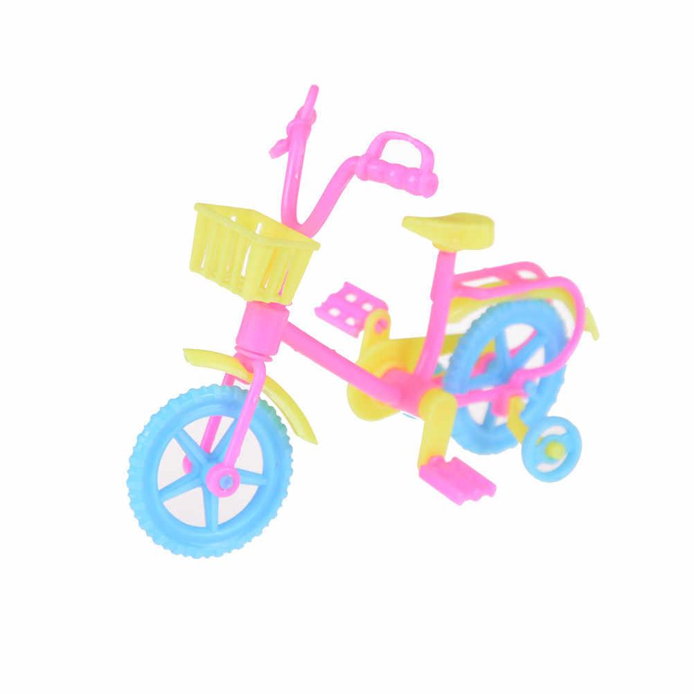 Nouveau Style mixte poupée accessoires vélo vélo/Scooter Sports de plein air jouet pour poupée maison de poupée Ken enfants coffret cadeau