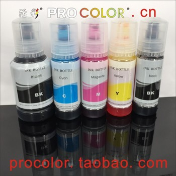 5 Color CISS Ink Bottle BK Pigment C M Y PB Dye ink refill kit For Epson EW-M770T EW M770T EW-M970A3T EW-M770TW Inkjet Printer фото