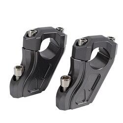 28mm uchwyt zacisk podniesiony przedłużyć uchwyt na kierownicę Riser dla BMW R dziewięć T R9T 2014 2015 2016 2017 2018 2019 motocykl Accessor