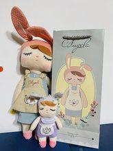 2 uds grandes y pequeños Metoo angela mochila regalo alta calidad dulce koala lindo conejo muñeca de La felpa para los niños panda abeja poupee de ciervos