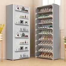 Novo armário de sapato multicamada quente à prova de poeira sapatos de armazenamento fácil instalar espaço de poupança suporte titular casa dormitório móveis sapato rack