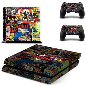 Image 5 - バットマンPS4ステッカープレイステーション4スキンステッカーのためのプレイステーション4 PS4コンソールとコントローラスキンビニール