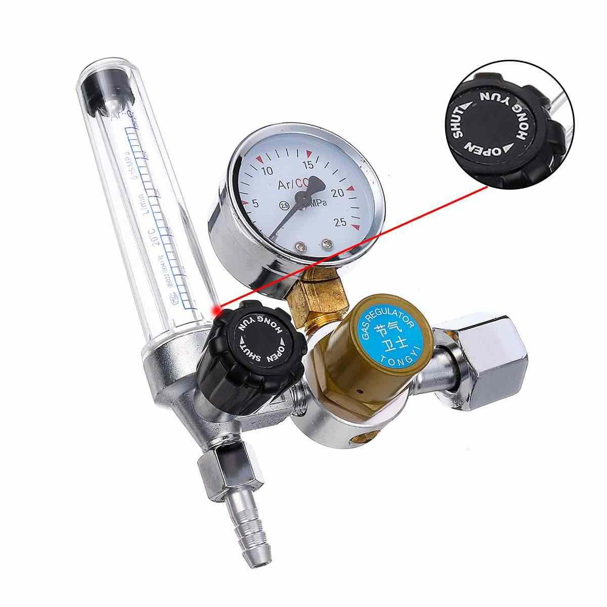 ガス計アルゴン CO2 圧力流量レギュレータ溶接ゲージアルゴンレギュレータ圧力減速