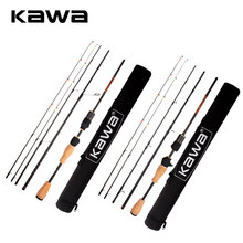 KAWA Fishing Rod Super Light Soft Rod 1.89m 4 Sections Double Top Sections Portable For Fishing High Quality And Classical Rod