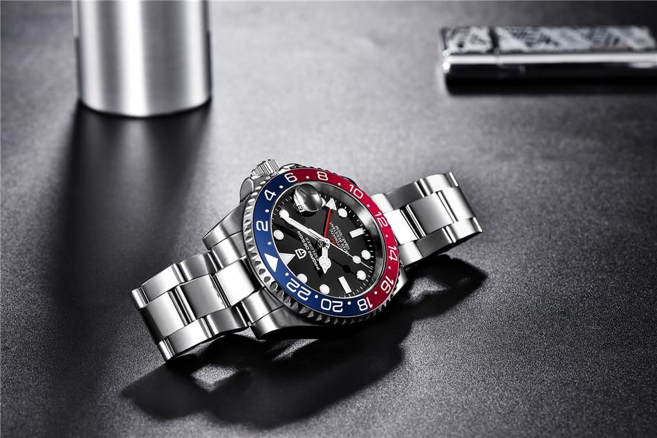 Pagani design marca superior relógio mecânico reloj