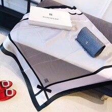 2020 Women Fashion Scarf Design Luxury Women Scarf Silk Long